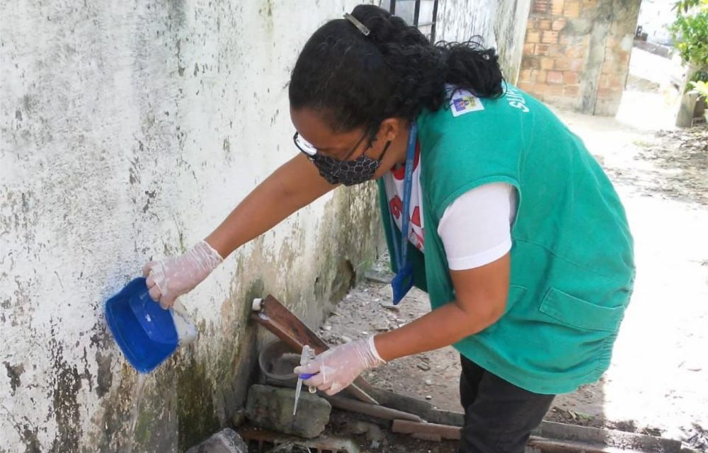 Vigilância Ambiental de Olinda inicia mutirões de combate à dengue,   chikungunya e Zika