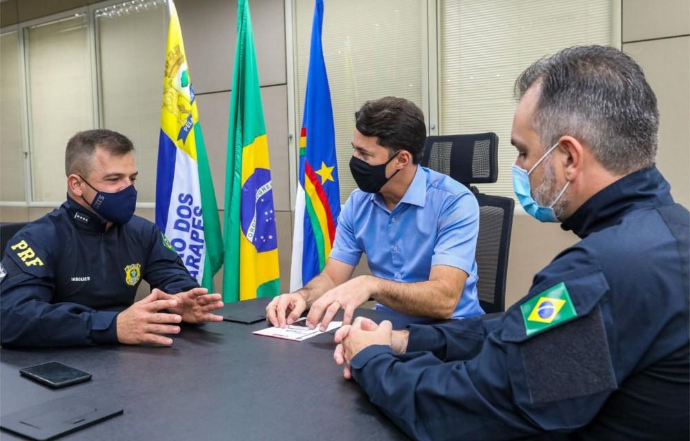 Anderson Ferreira viabiliza implantação de escola da PRF no Jaboatão