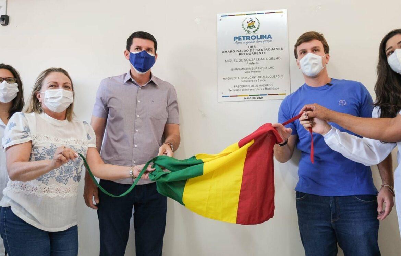 Miguel Coelho inaugura nova unidade de saúde em Petrolina
