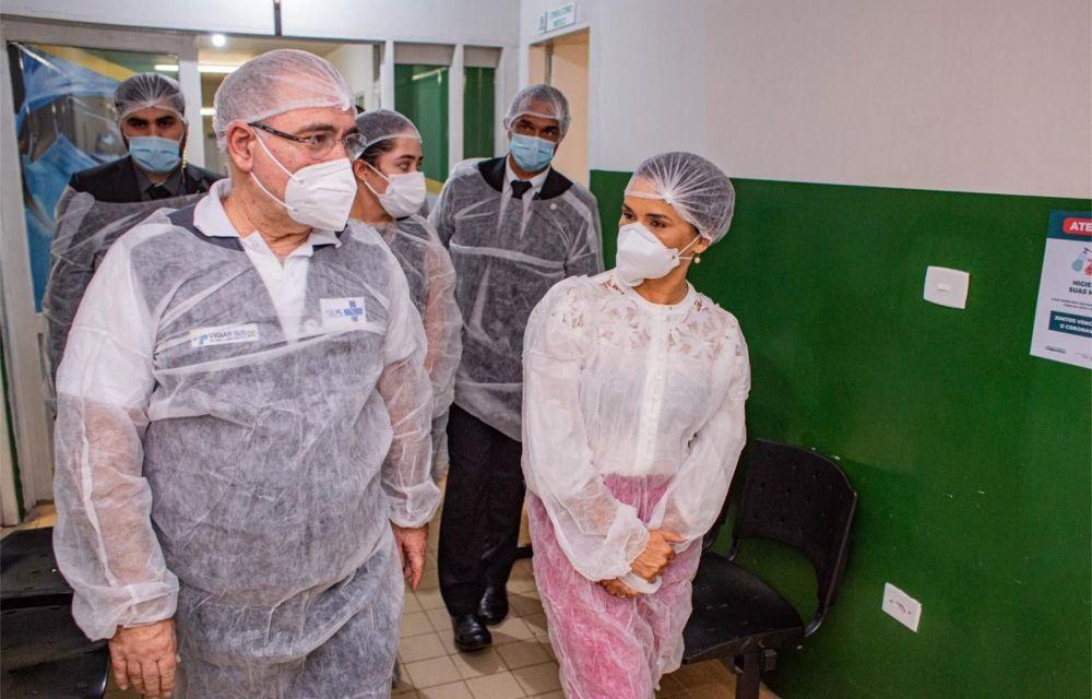 Lucielle Laurentino recebe ministro da Saúde em Bezerros