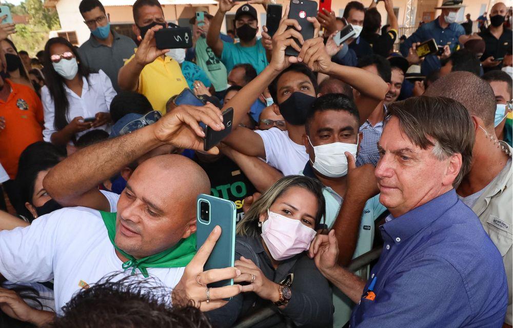 Bolsonaro inaugura ponte que liga Maranhão ao Piauí