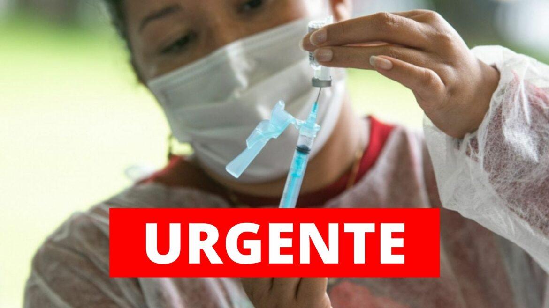 Recife anuncia vacinação para pessoas com 50 anos ou mais