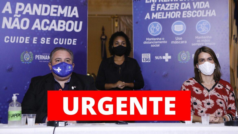 Pernambuco prorroga quarentena até 13 de junho e Sertão também terá restrições