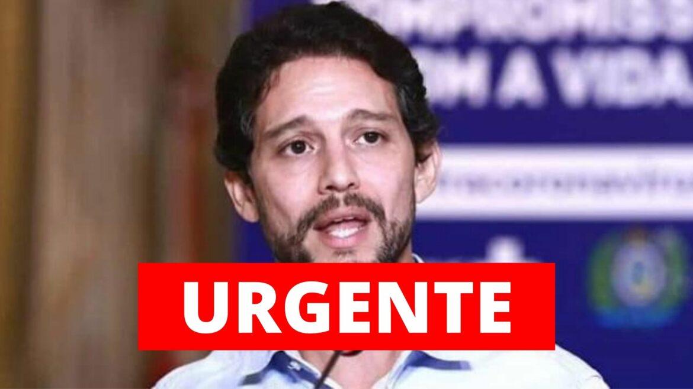 Paulo Câmara exonera secretário de Defesa Social Antonio de Pádua