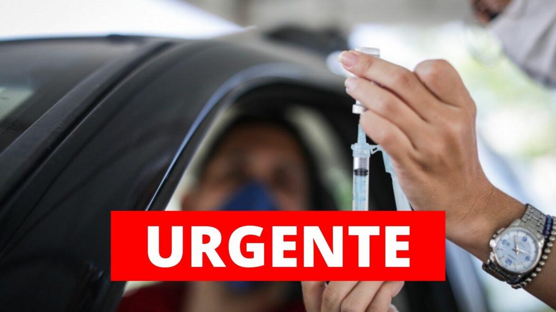 Recife começa a vacinar pessoas com 43 anos ou mais nesta quinta (10)