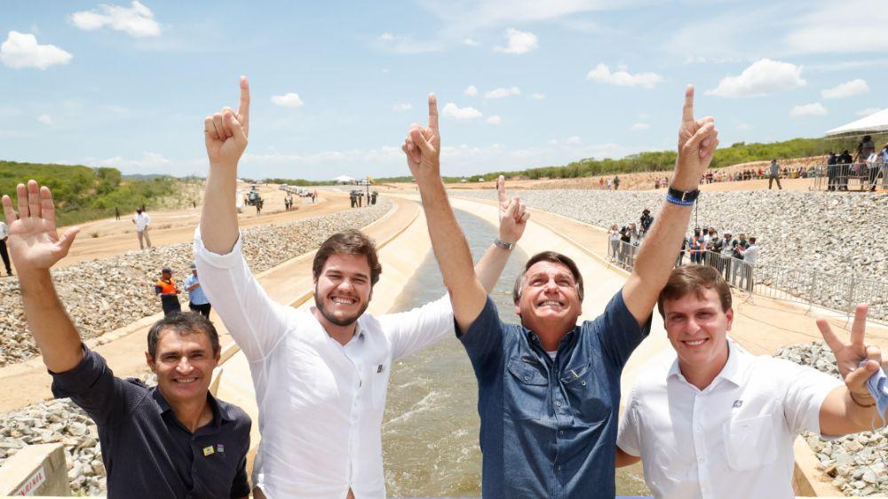 Investimento em infraestrutura é a marca do Governo Bolsonaro no Nordeste