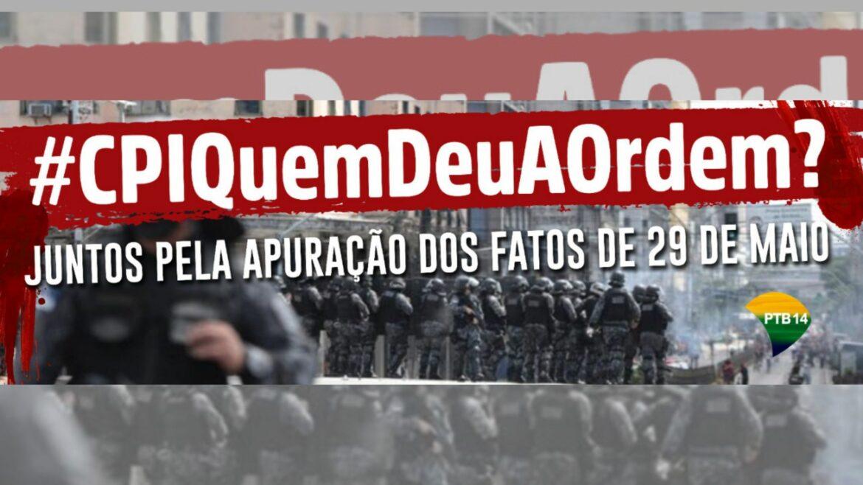 PTB espalha outdoors pelo Recife em apoio à CPI que cobra resposta de Paulo Câmara