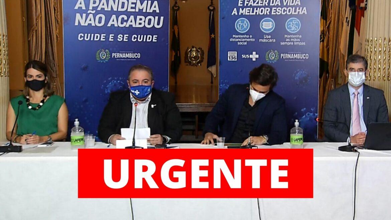 Governo de Pernambuco flexibiliza quarentena e amplia horário do comércio e serviços