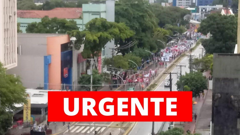 Ato contra Bolsonaro fracassa novamente no Recife