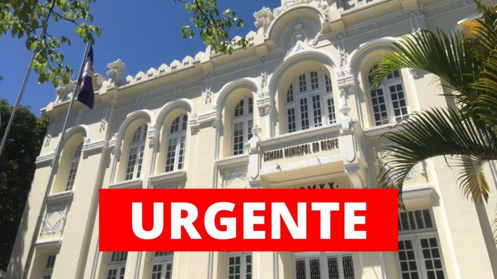 Câmara do Recife aprova reforma da previdência em primeira votação