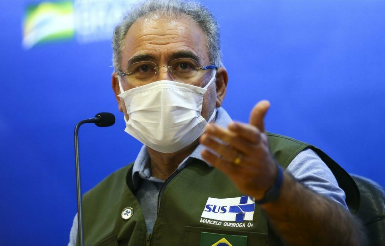 Queiroga anuncia chegada de 3 milhões de doses da vacina Janssen