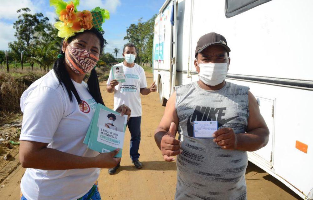 Ipojuca implanta vacinação itinerante para atender a Zona Rural e amplia para 45 anos+