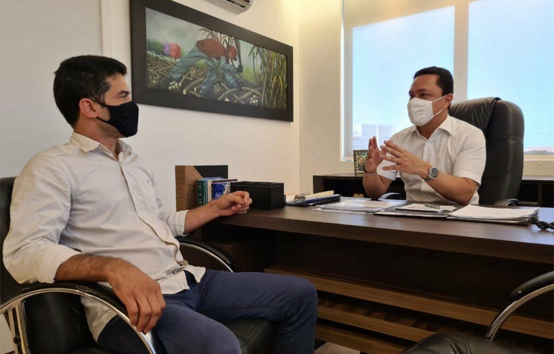 André Ferreira e Marlos se reúnem para discutir eleição de Maraial