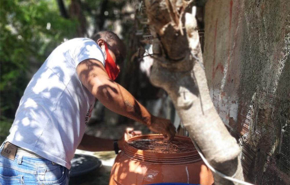 Mutirão de combate à dengue  vistoriou 3.500 imóveis de Rio Doce