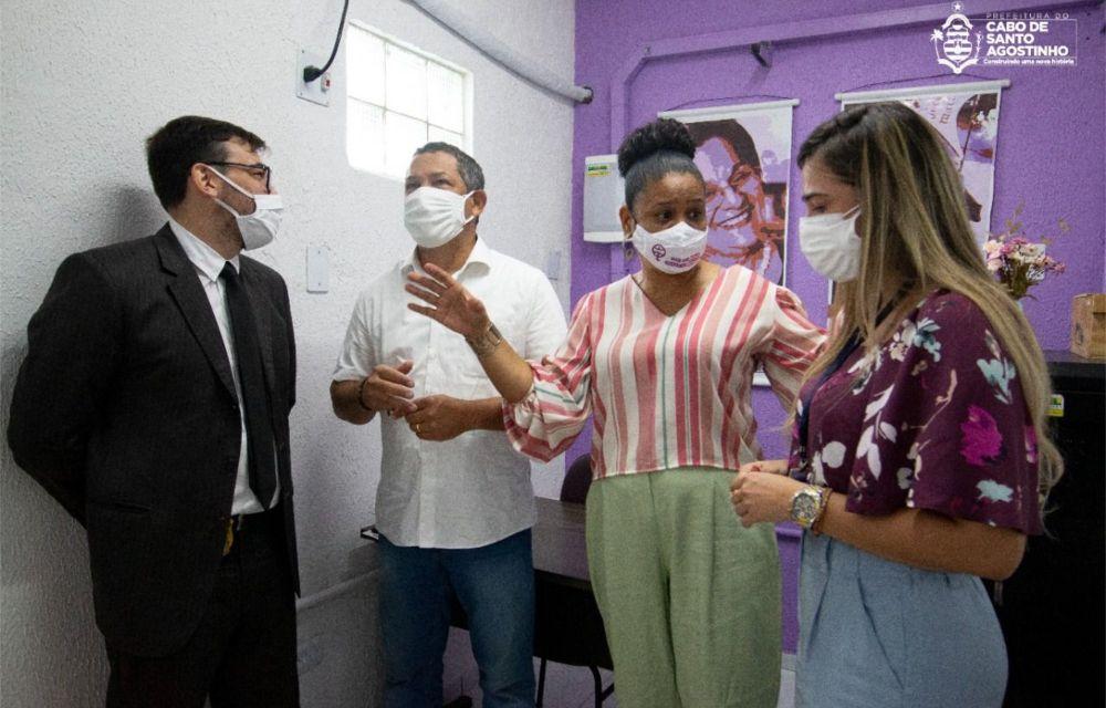 Cabo inaugura a Sala da Mulher para atender as vítimas de violência doméstica