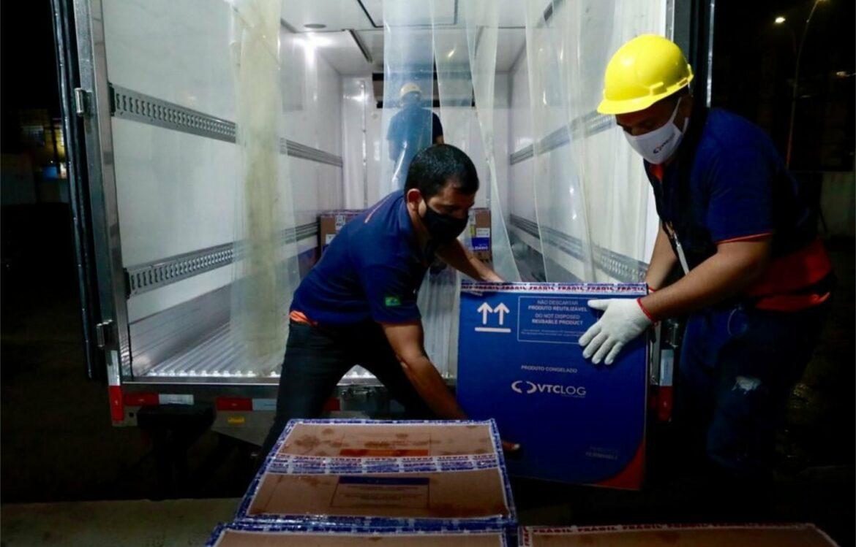 Pernambuco recebeu mais 97.110 vacinas da Pfizer nesta sexta-feira