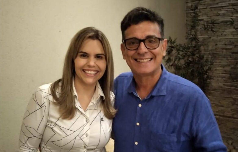 Coronel Meira e Clarissa Tércio se reúnem visando a eleição de 2022