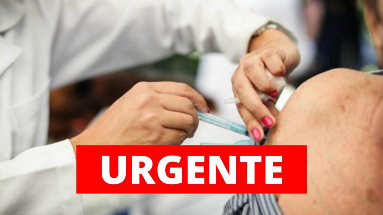 Recife vai vacinar pessoas com mais de 34 anos
