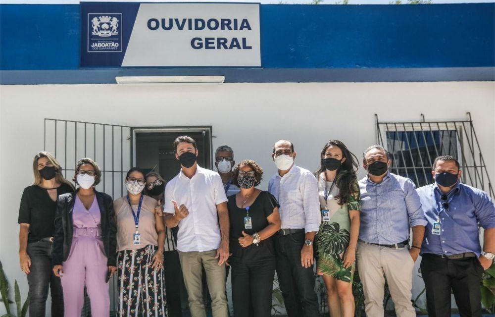 CGU premia Ouvidoria da Prefeitura do Jaboatão por alto desempenho