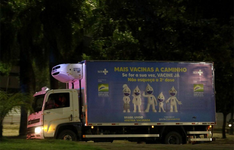 Municípios pernambucanos receberão 259 mil vacinas contra a Covid-19 nesta quarta-feira