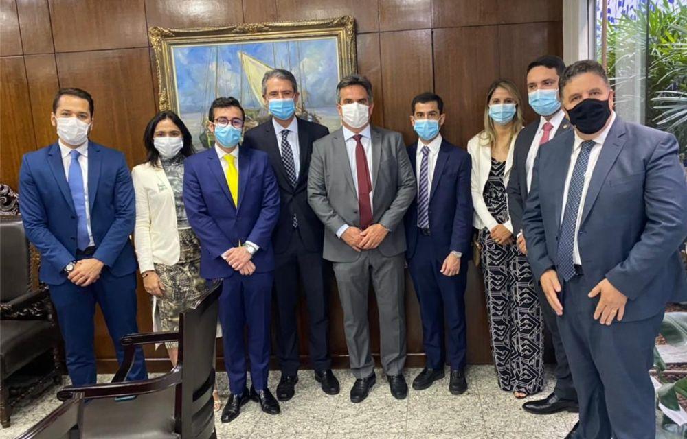 Representantes do PP de PE se reúnem com Ciro Nogueira e acompanham posse de Eliane Nogueira