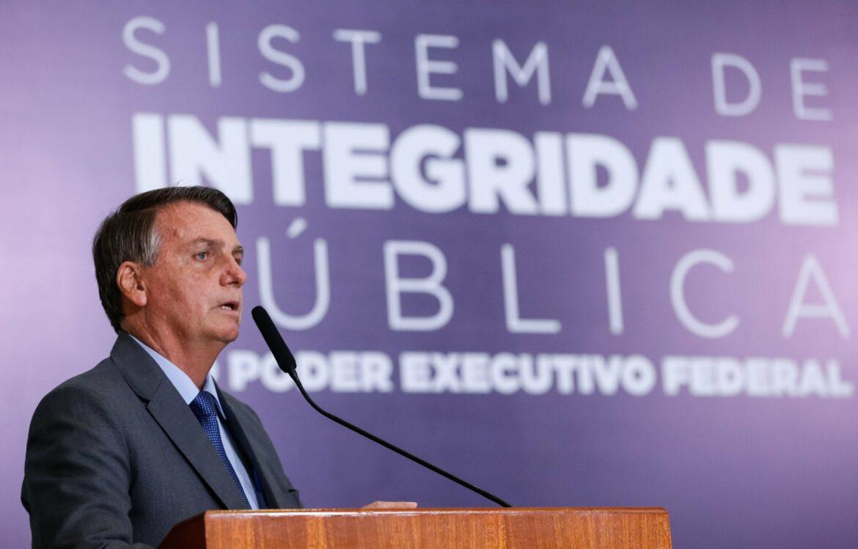 Bolsonaro institui sistema de combate à corrupção no Governo Federal