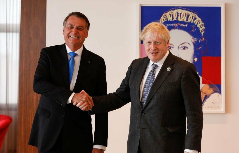 Bolsonaro se reúne com primeiro-ministro britânico nos EUA