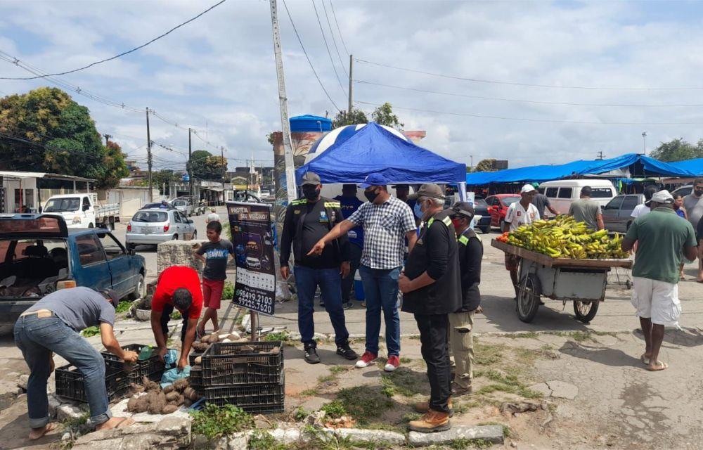 Olinda teve fiscalização de comércio de bairros, praia e Sítio Histórico