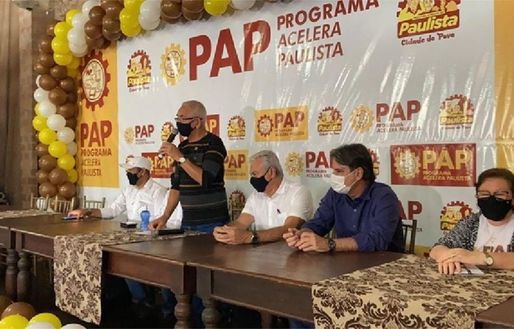 Prefeito Yves Ribeiro lança o Programa Acelera Paulista