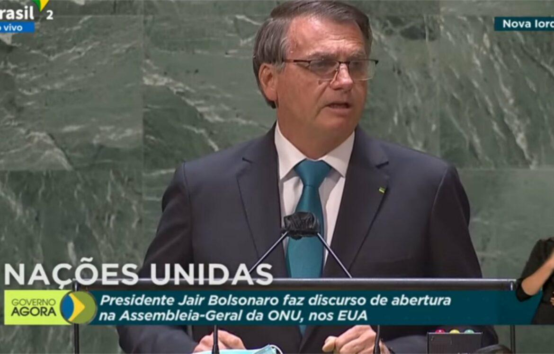 Confira discurso de Bolsonaro na Assembleia Geral da ONU
