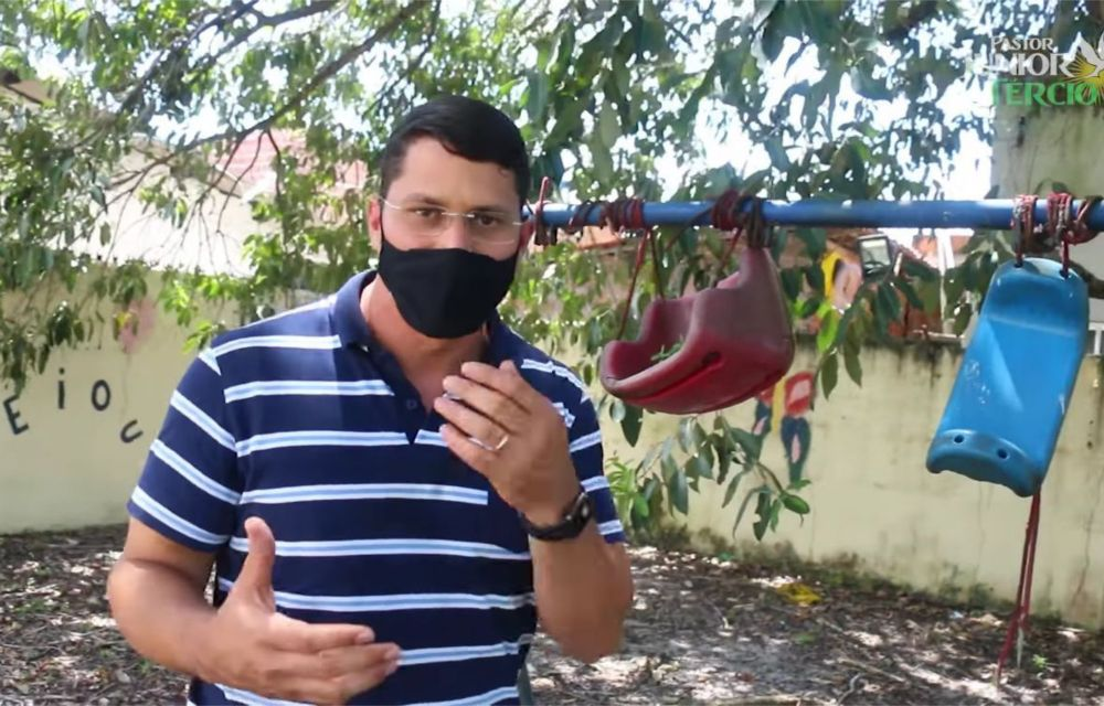 Pastor Júnior Tércio denuncia fechamento de creche em Afogados e cobra providências da Prefeitura