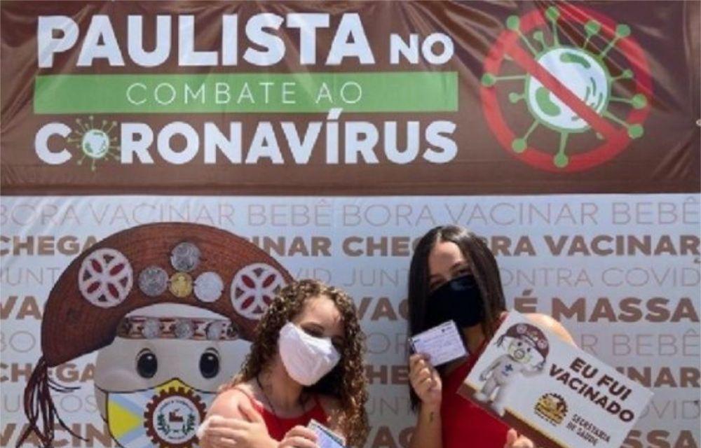 Paulista inicia vacinação contra Covid-19 em adolescentes a partir de 15 anos