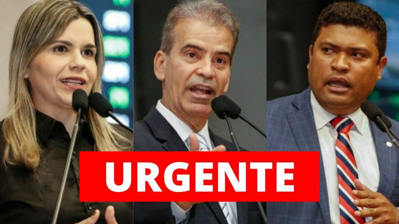 Feitosa, Clarissa e Joel denunciam Paulo Câmara na Comissão Interamericana dos Direitos Humanos