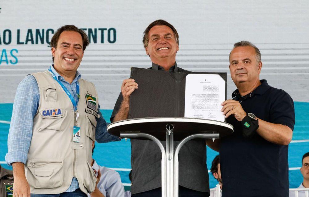 Bolsonaro começa Jornada das Águas com R$ 5,8 bilhões para revitalizar bacias hidrográficas